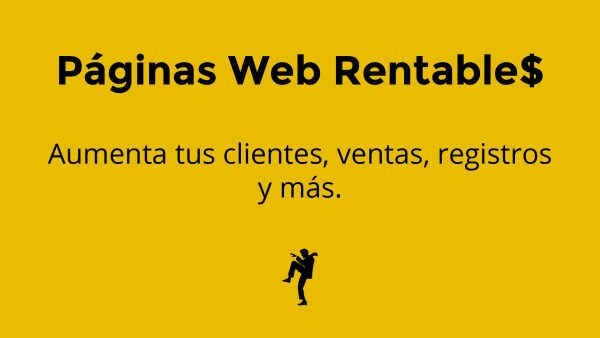 paginas web rentables, marketing digital